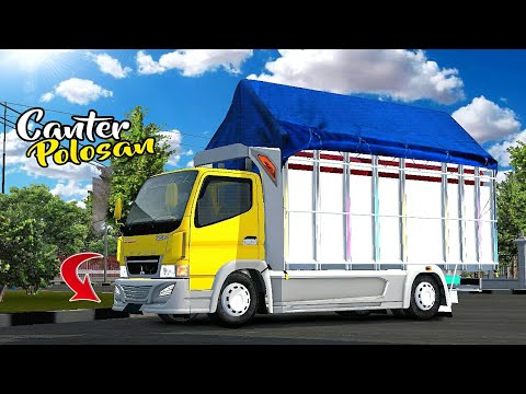 MOD BUSSID TERBARU    TRUCK CANTER TERBARU MBOIS POLOSAN DETAIL POOLL    SHARE LIVERY FREE DOWNLOAD