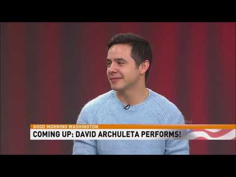 David Archuleta HD @ GMW Interview + Invincible