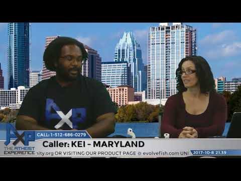Church Claims He is an Atheist & Questioning Belief | Kei – Maryland | Atheist Experience 21.39