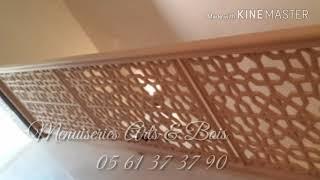 Séparation de salon cnc sculpture mousharabieh
