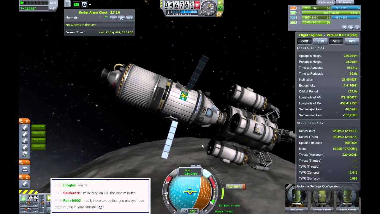 Kerbal Space Program - Totally 100% Fine Mission to Dres ...