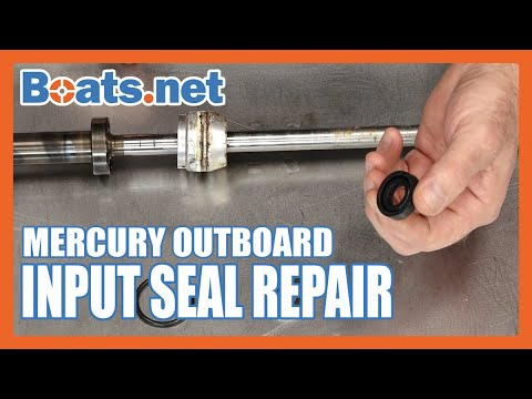 Mercury 40HP Input Shaft Seal Replacement | Mercury 40 Outboard Upper Seal Replacement | Boats.net