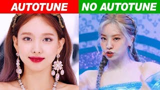 KPOP IDOLS AUTOTUNE VS NO AUTOTUNE (MV vs LIVE!) PART 3