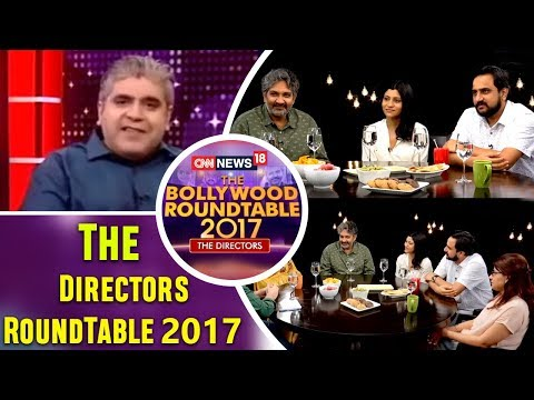 The Directors RoundTable 2017 with Rajeev Masand  | CNN News18