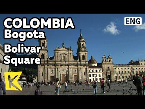 【K】Colombia Travel-Bogota[콜롬비아 여행-보고타]구시가지, 볼리바르 광장/Bolivar Square/Old Town/Primada Cathedral