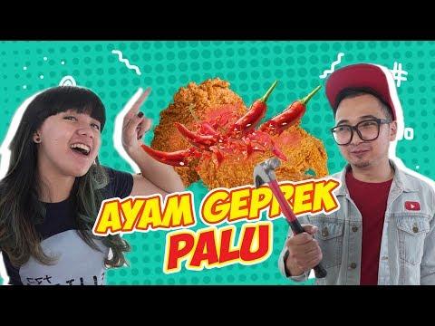 AYAM KFC DI GEPREK PAKE PALU !! Enak Gak Ya !?