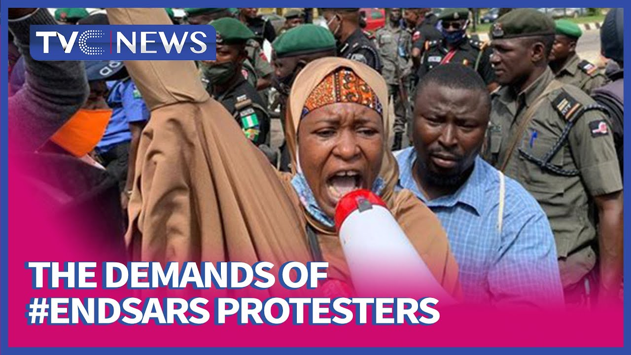 [FULL VIDEO] Aisha Yesufu Speaks On The Demands Of #EndSARS Protesters
