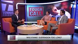 Tough Call - Does Dan Evans' Suspension Fit the Offense?