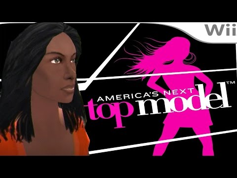 HOT MODEL TARA DIKOV - America's Next Top Model Game #1 (Wii Let's Play)