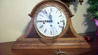Howard Miller Westminster Chime Worthington Mantel Clock