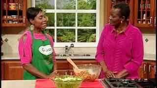 Juliet Cuthbert's Shrimp Pasta Salad - Grace Foods Creative Cooking
