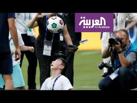 نجوم ليفربول وتشيلسي يتدربون مع ذوي الاحتياجات الخاصة  - 00:53-2019 / 8 / 14