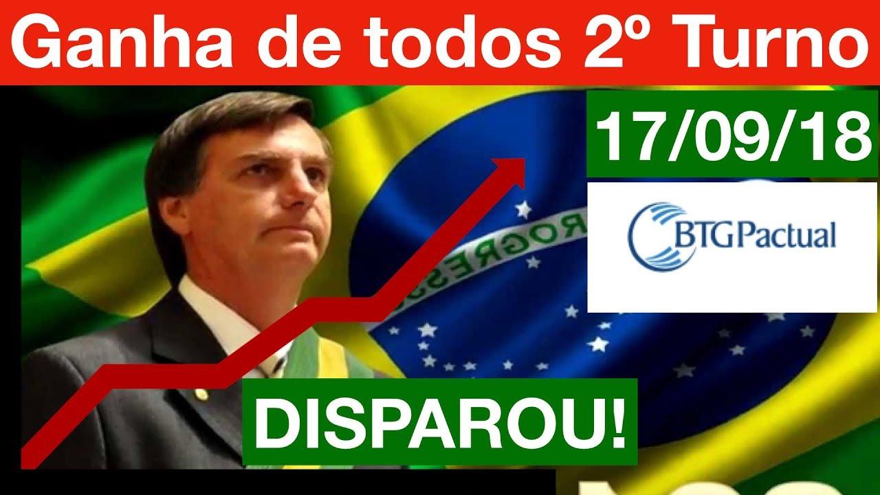 Bolsonaro DISPARA e ganha de TODOS no 2º Turno em nova Pesquisa BTG/FSB. Análise completa!