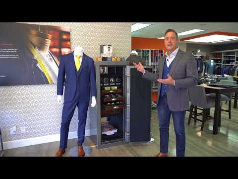 The collaboration between Casoro Jewelry Safes and b.spoke (Bespoke and Custom Suits Orange County)