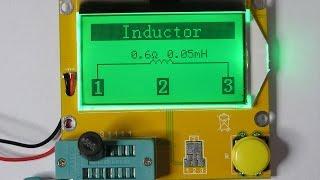 RLC - Транзистор - Метр. Прибор для проверки конденсаторов, индуктивности, транзисторов, и др.