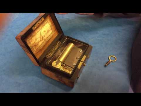 Antique Music Boxes For Sale Online