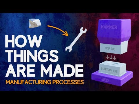 How Things Are Made | An Animated Introduction to Manufacturing Processes