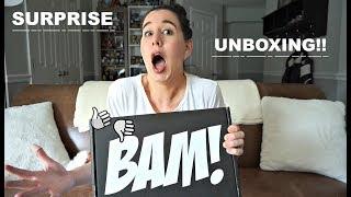 IT'S A SURPRISE BAM BOX UNBOXING!!