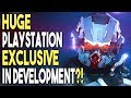HUGE PlayStation EXCLUSIVE in Development?! MAJOR Franchise Coming Back?!