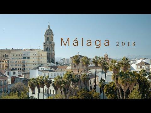 Malaga 4K 2018 | NYE in the Andalusian Sun!