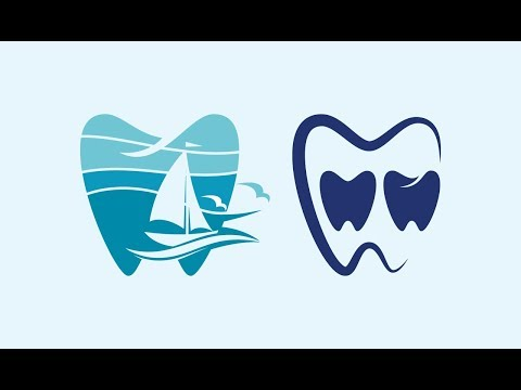 How to make dental logo in Adobe Illustrator. Bangla tutorial thumbnail