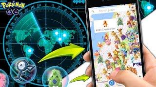 Pokemon GO ¡NUEVO NycPokeMap! RADAR Como VER A TODOS LOS POKEMONS EN EL MAPA! POKERADAR Android/ios