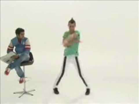 Danse Tecktonik par Jamel Debbouze