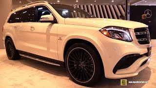 2017 Mercedes AMG GLS63 - Exterior and Interior Walkaround - 2017 New York Auto Show