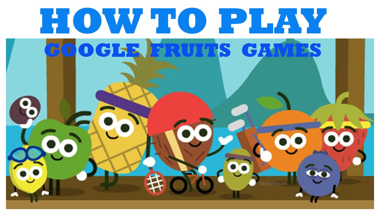 Fruit Games To Play