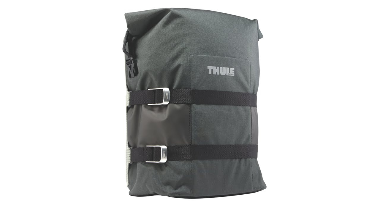 Bike Bags   Racks - Thule Pack  n Pedal Adventure Touring Pannier - YouTube c57b32988