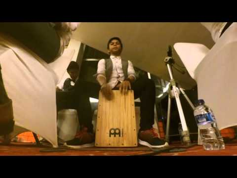 Ayah - Peterpan ( cajon cover) Coffelatte Akustik Band