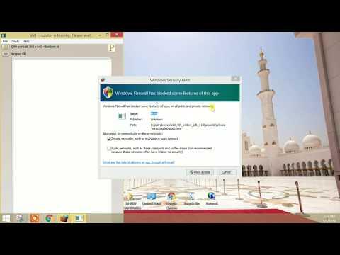 symbian os emulator for windows