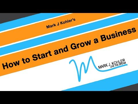 Starting Your Business And Tracking Start Up Costs | Mark J Kohler