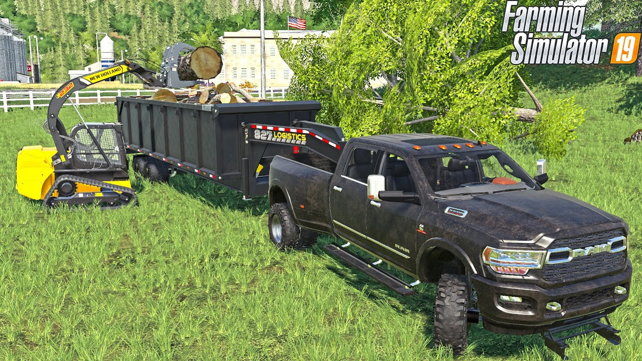 "PUTTING ""NEW"" 20ft DUMP TRAILER TO WORK! 