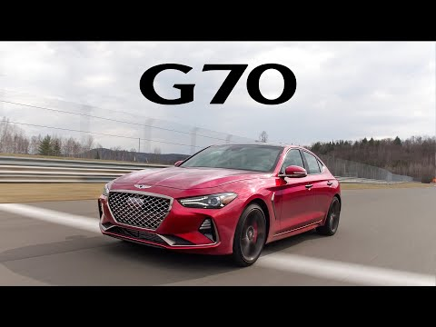 2019 Genesis G70 Review On the Road, Track, and Autocross