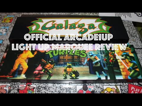 Official Arcade1Up Light Up Marquee Review from Original Console Gamer