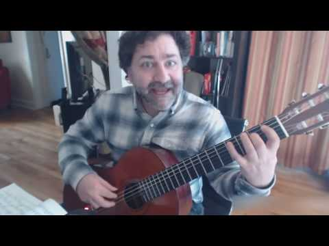 Classical Guitar Lesson - Minuet in G by Fernando Sor