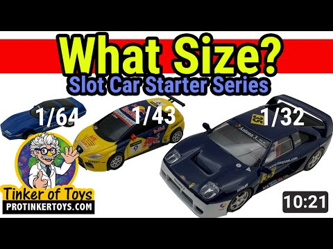 What Size Should I Buy? Slot Car | Slot Car Starter Series Ep 1