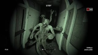 Outlast 2 Gameplay - The man with his hands is there! (Xbox One 2017)