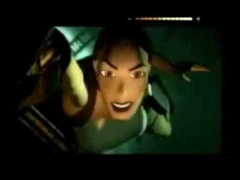 Lara Croft - Lucozade Commercials