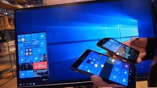 Microsoft Windows 10 Continuum on ARM