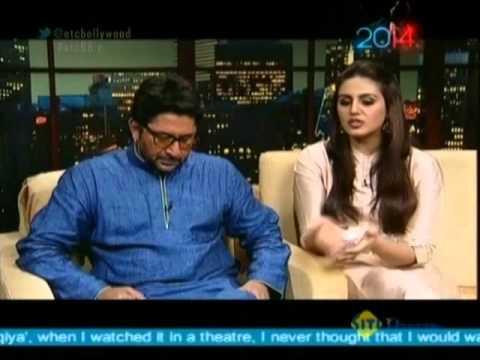Arshad Warsi & Huma Qureshi With Komal Nahta