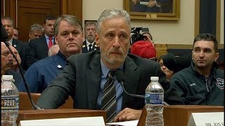 Jon Stewart blasts U.S.  Congress over 9/11 victims fund