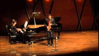 Sonata en ut# pour saxophone alto et piano - Fernande Decruck