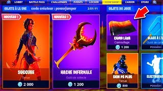 🔴 I BUY the NEW SKIN of the BOUTIQUE of MARCH 23 on Fortnite!