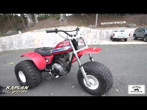 1981 Honda ATC 185S 3 Wheeler YouTube