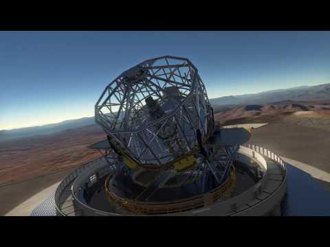 New Design Unveiled for Massive Mega-Telescope   Video