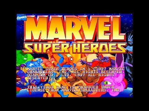 タイトルデモ - マーヴル・スーパーヒーローズ(MARVEL SUPER HEROES)