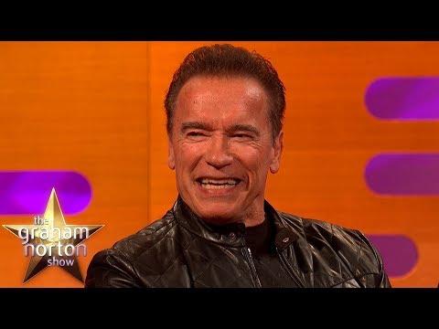 Arnold Schwarzenegger Explains The Terminator's Hilarious New Day Job   The Graham Norton Show