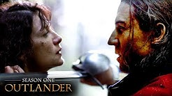 The First Time Claire Meets Black Jack Randall | Outlander